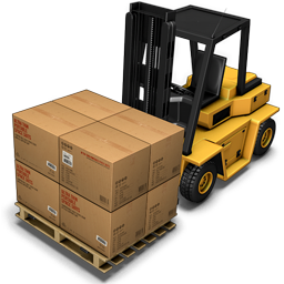 Fork-lift-capable